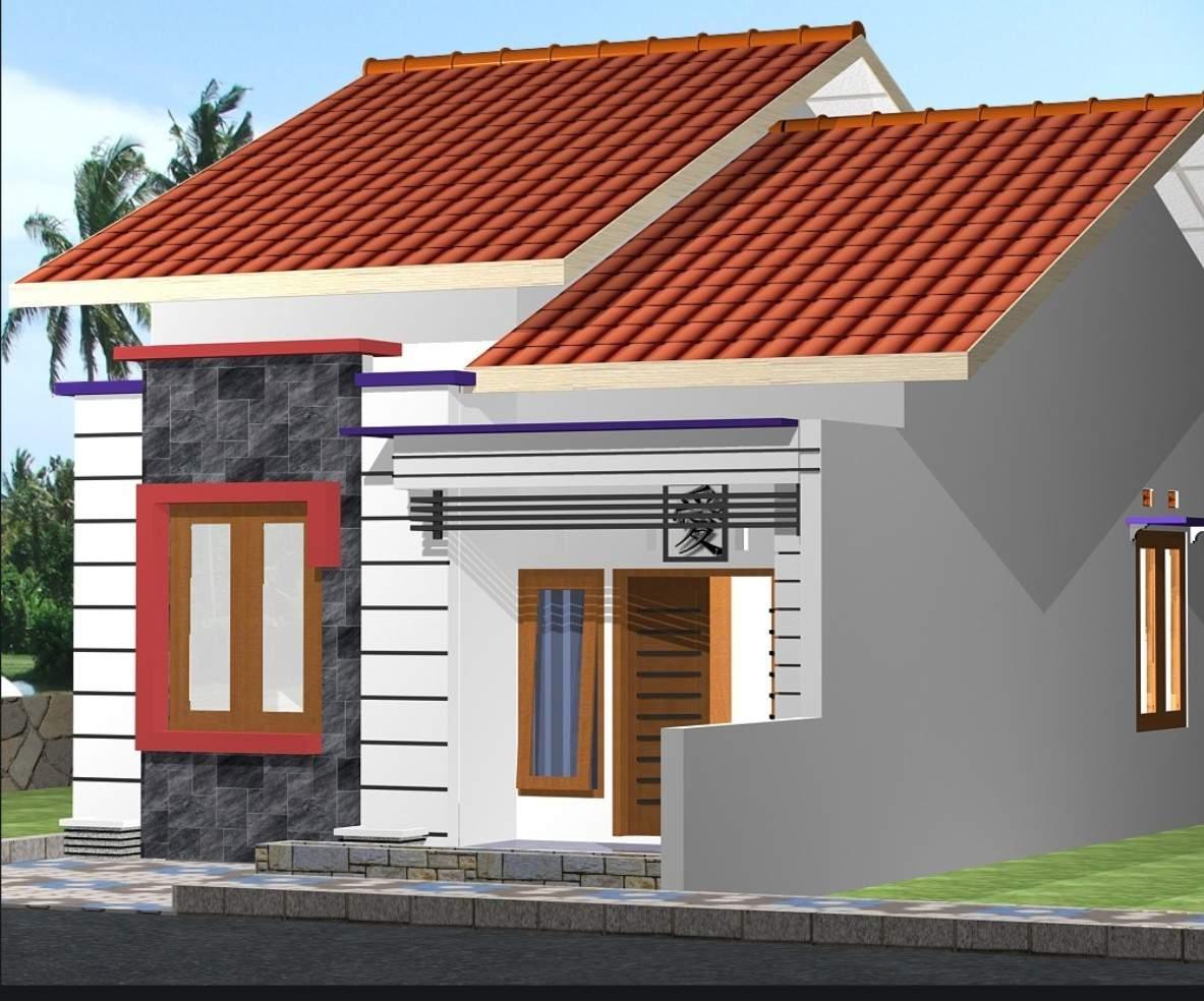 Kumpulan Denah Rumah Minimalis Modern Atap Miring 2020 Rumahmewah45