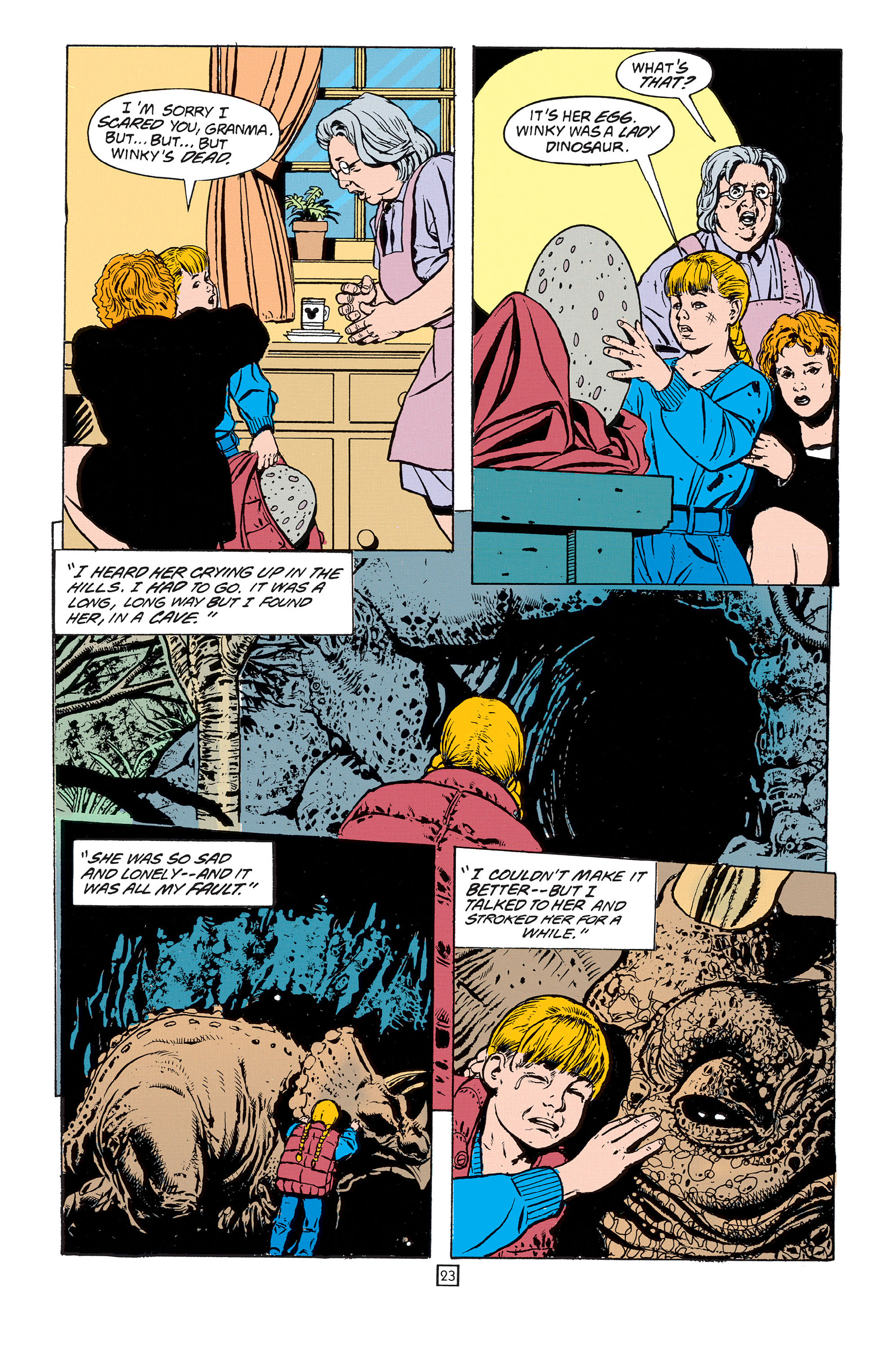 Read online Animal Man (1988) comic -  Issue #55 - 23