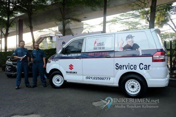Untuk Temani Mudik Pelanggan, Suzuki Siapkan Ratusan Mobil Towing
