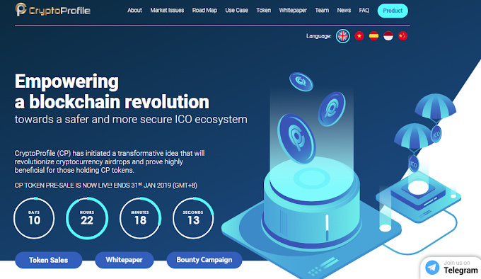 CryptoProfile: One Platform for All Cryptocurrency and ICO Information