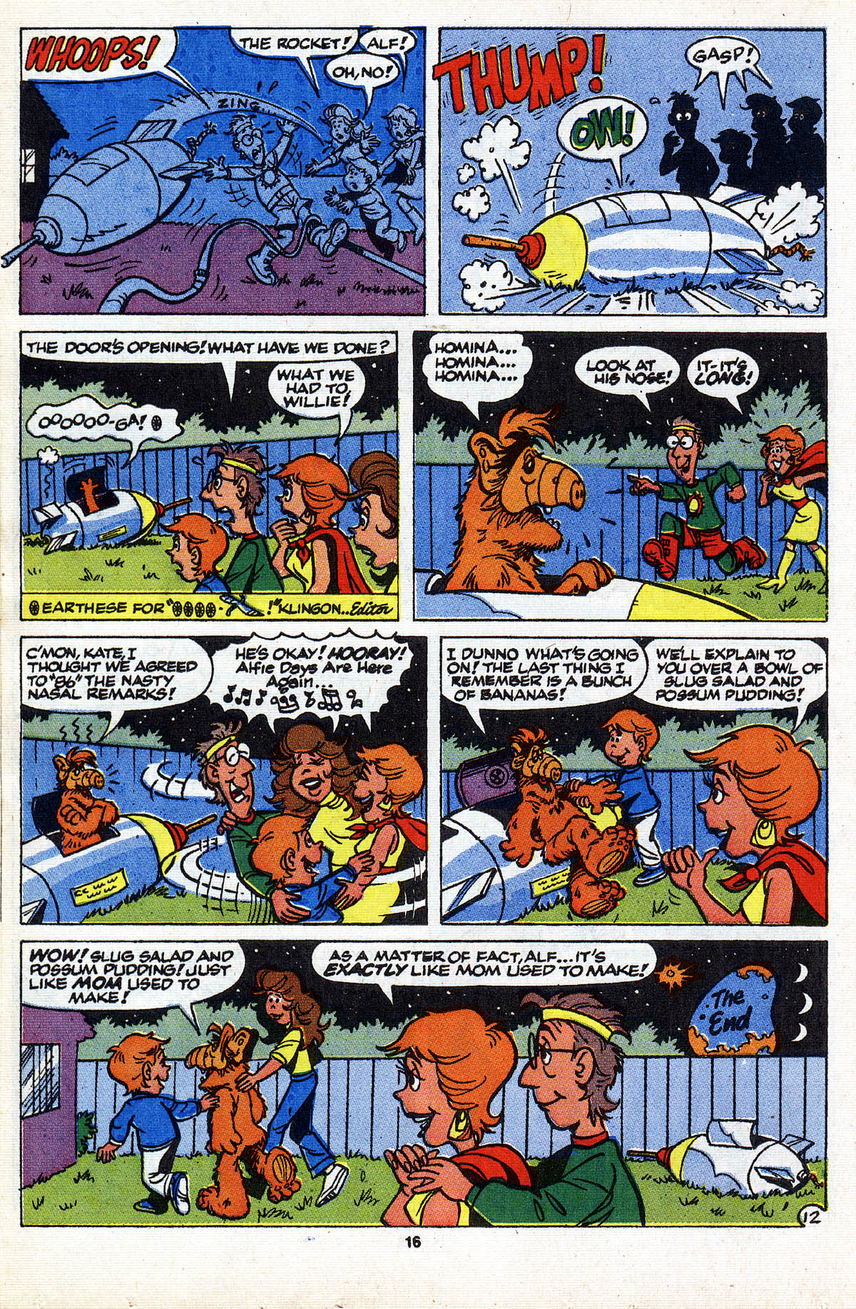 Read online ALF comic -  Issue #28 - 18