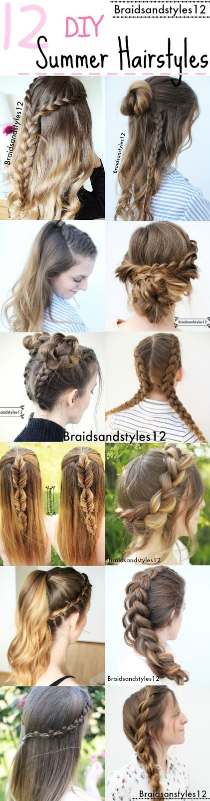 12 braid hairstyle ideas for this summer