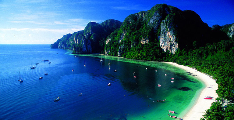 phi phi, asia beach and seashore tourist attractions