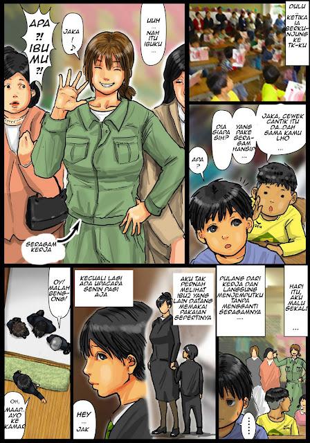 Manga saru hentai berwarna ibu cantik