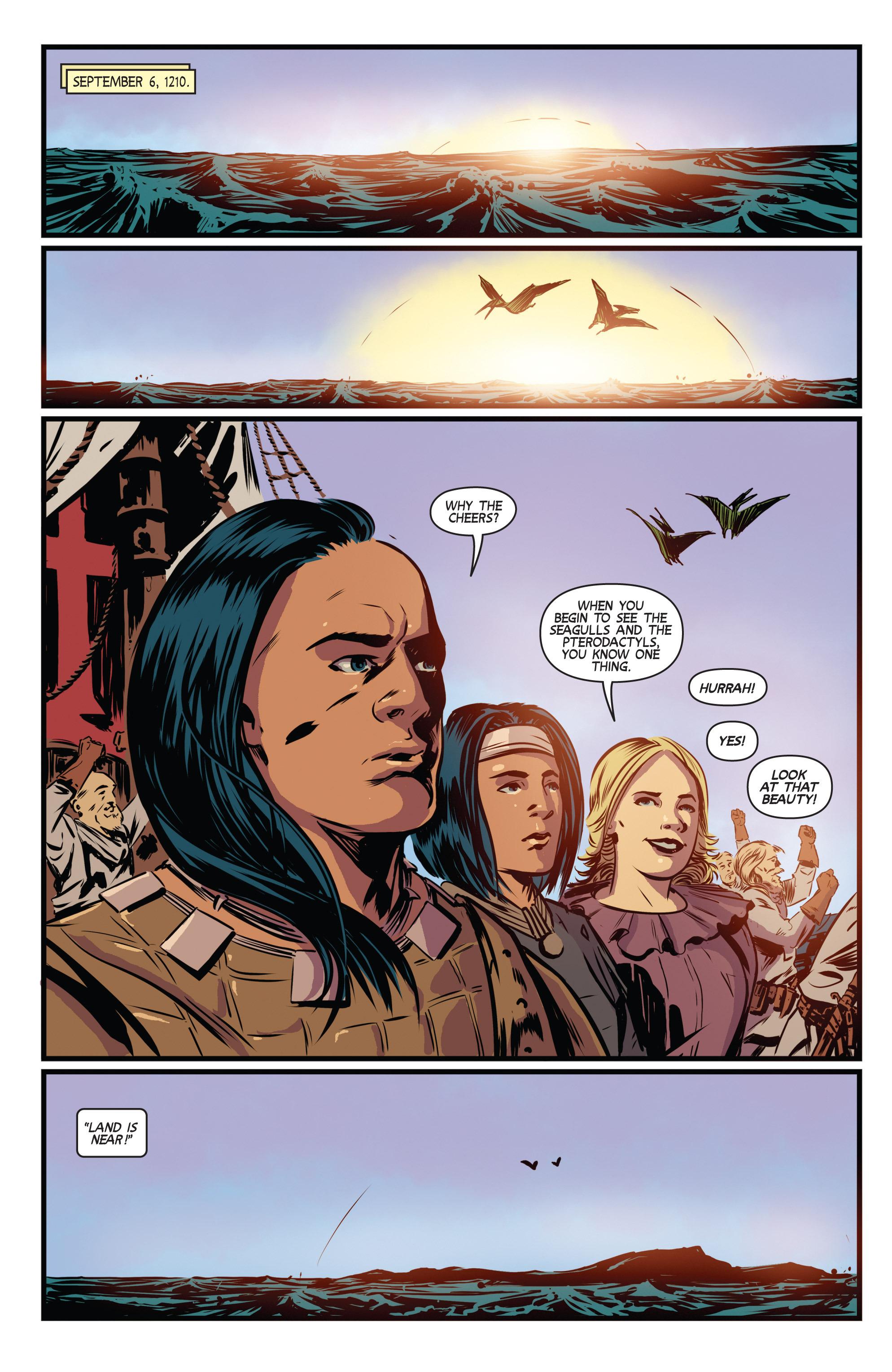 Read online Turok: Dinosaur Hunter (2014) comic -  Issue # _TPB 3 - 23