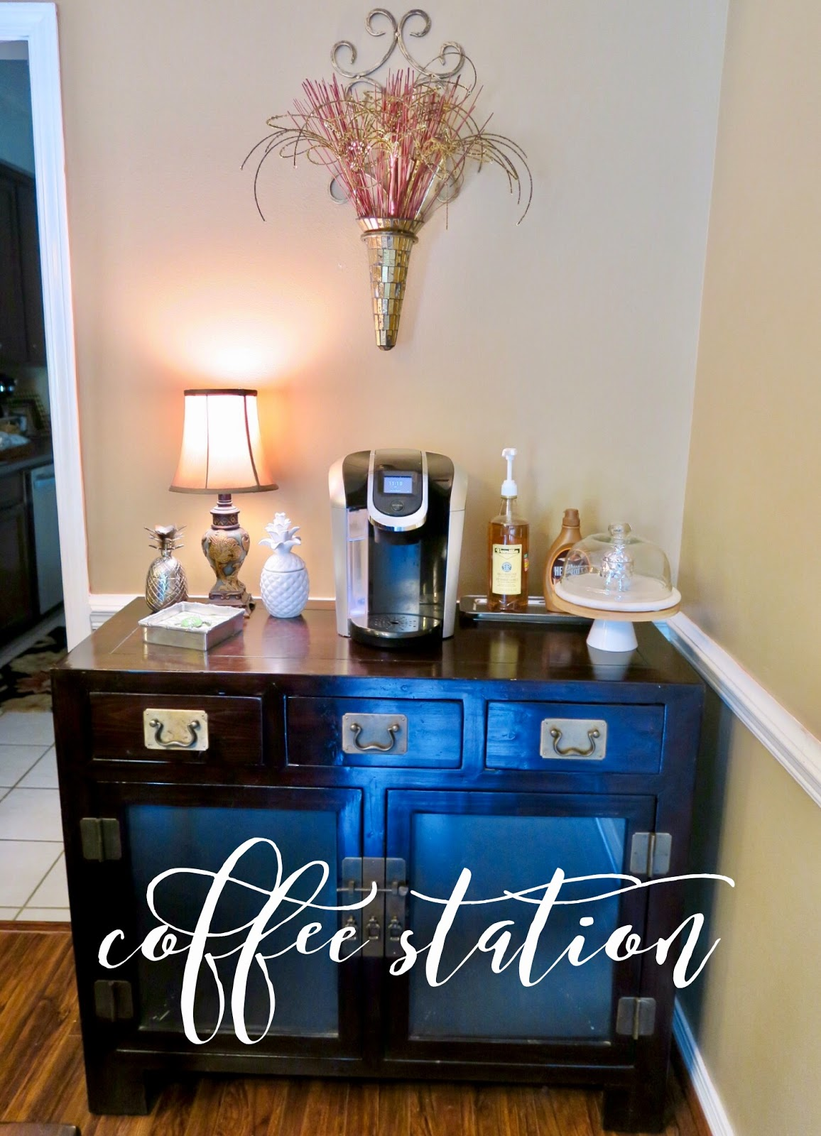 Organizing a coffee station and ideas for setting it up for How to set up a coffee station