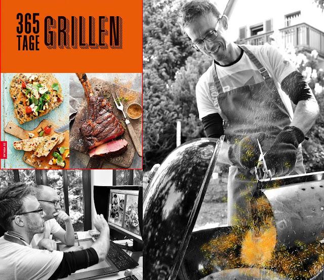 Manuel Weyer, Koch, Grill-Experte, Food-Stylist und Chef von culinary art - 365 Tage Grillen