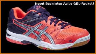 Kasut badminton terbaik Asics GEL-Rocket7