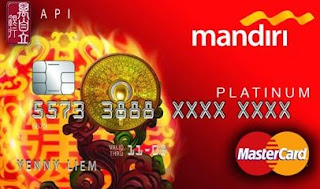 Kartu Kredit Mandiri Fengsui