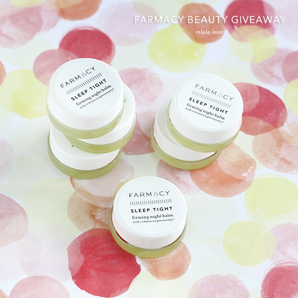 Farmacy Beauty Giveaway