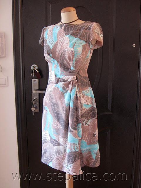 Štepalica: Haljina sa čvorom