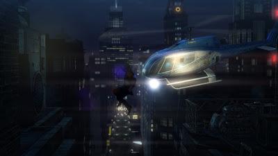 hitman Absolution saut dans le vide hélicoptère