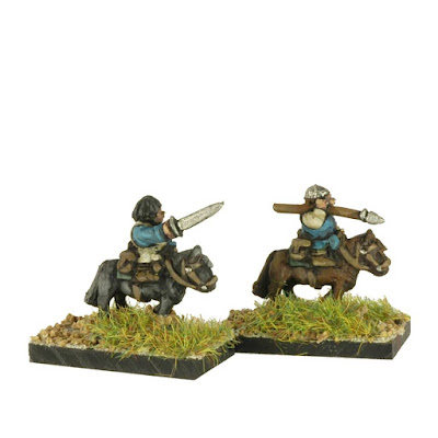 FHL401 Halfling Light Cavalry on Ponies