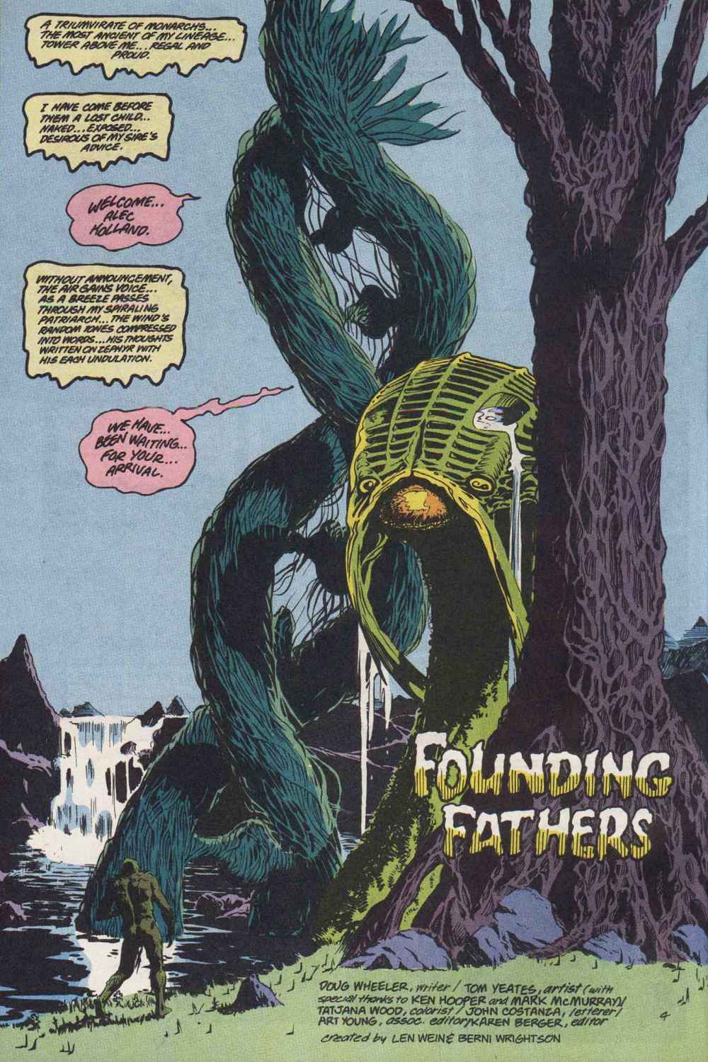 Swamp Thing (1982) Issue #89 #97 - English 5