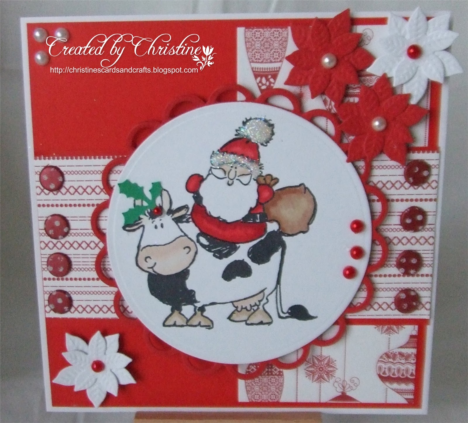 Christine\'s Cards and Crafts: Santa\'s New Transport.