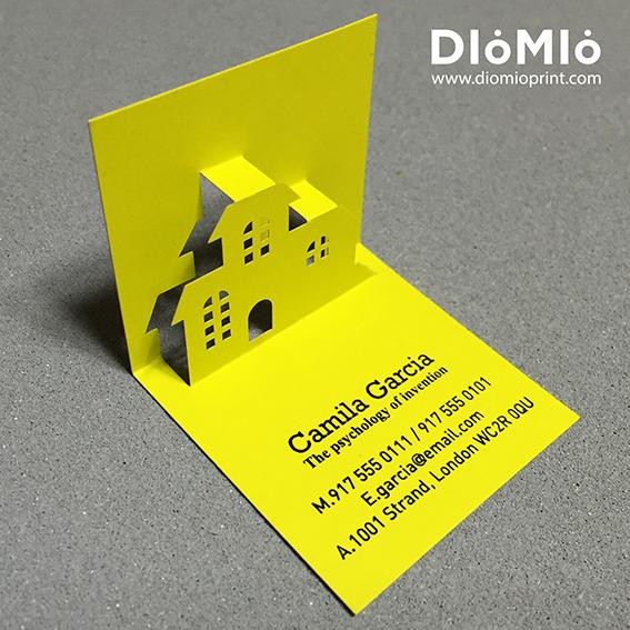 Unique Interior Designer Business Card