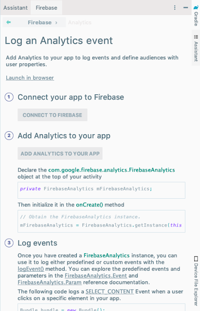 firebase-assistant-log-analytics