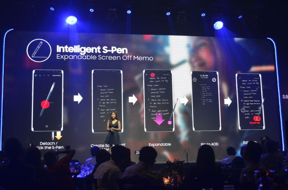 Intelligent S-Pen Samsung Galaxy Note 8