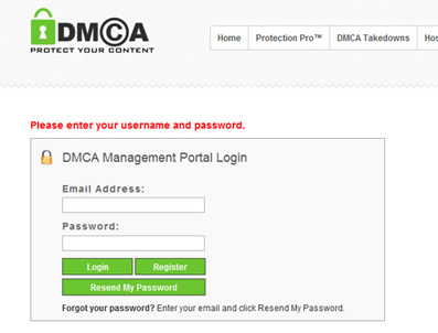 DMCA Digital Millennium Act