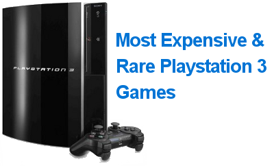 Most Expensive PS3 Games