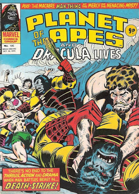 Marvel UK, Planet of the Apes #105