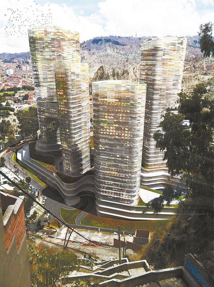 La inicial Ciudad Empresarial Toyota proyectó edificios de 60 pisos en 120 mil mt2 por $us 500 millones  / FACEBOOK