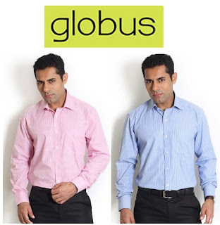 Enjoy Flat 50% Discount on Quality Product from Globus | Formal / Casual Shirts (Offer Price Starts from Rs.399)