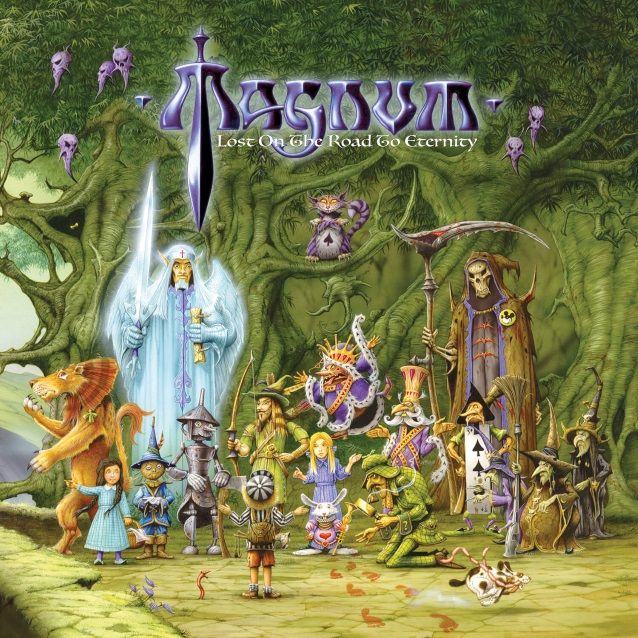Magnum Lost On The Road To Eternity album artwork