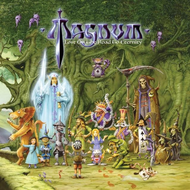 Magnum Lost On The Road To Eternity album artwork