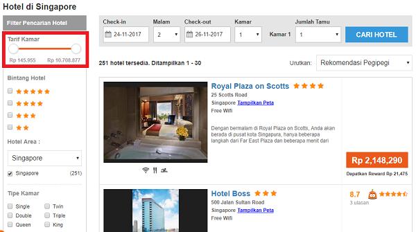 Booking Hotel Singapore Murah