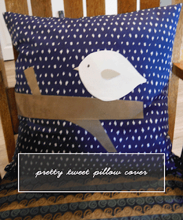 pretty tweet pillow cover tutorial | craft.outsideofablog.info