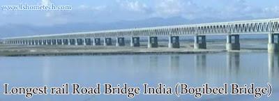 Bogibeel bridge India