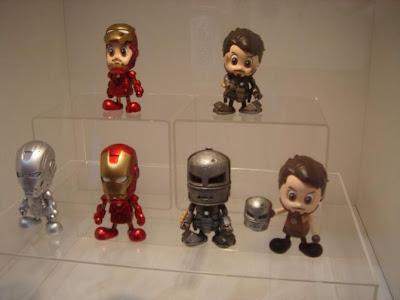 juguete de Iron man cabezon