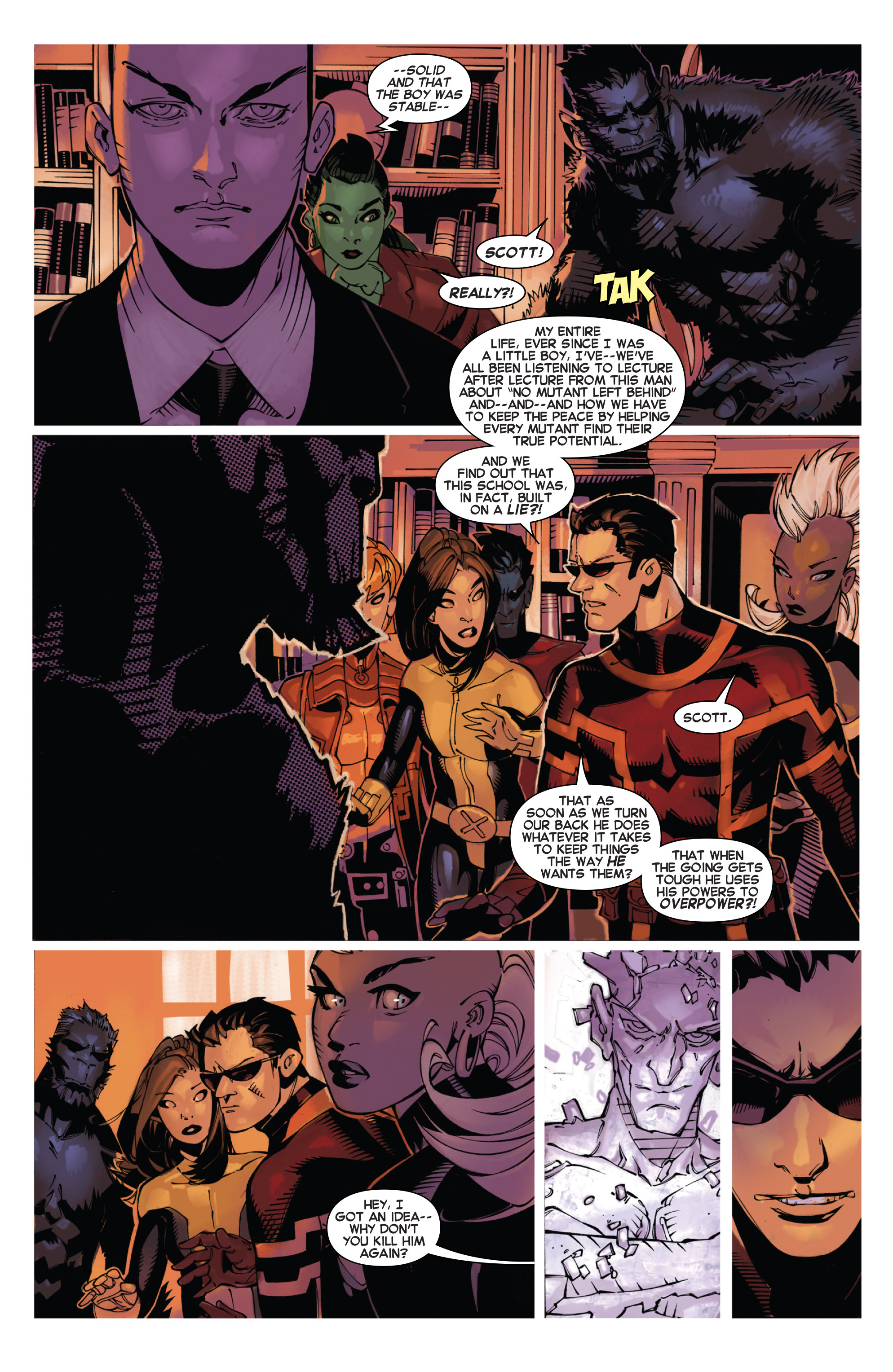 Read online Uncanny X-Men (2013) comic -  Issue #25 - 18
