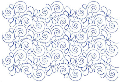 'Wave on Wave' digital pantograph designed by Patricia Ritter