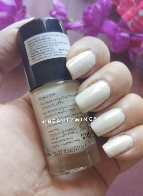 Essence I Love Trends Nail Polish Review - 05 Pure Soul