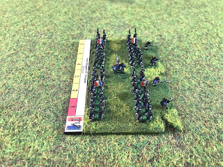 Wargming figures in 6mm for Napoleonic Wargaming