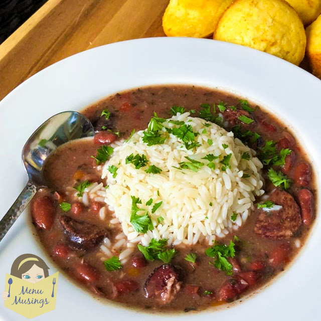 slow cooker red beans_menumusings.com