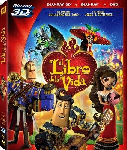El Libro De La Vida 3D SBS Latino