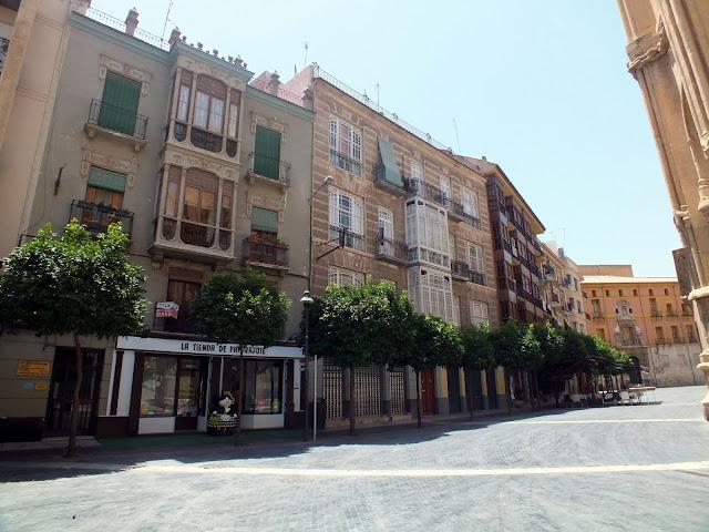 ruta por el centro de Murcia