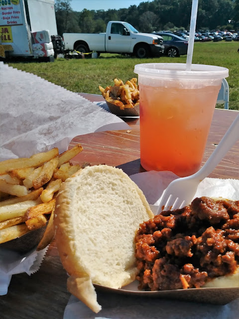 good food at the Montpelier fiber festival