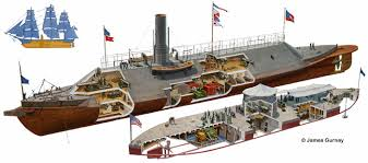 a comparison of the uss monitor and css merrimack during the civil war Start studying the civil war  the first prominent general of the confederate states army during civil war  battle between uss monitor and css virginia (merrimack.