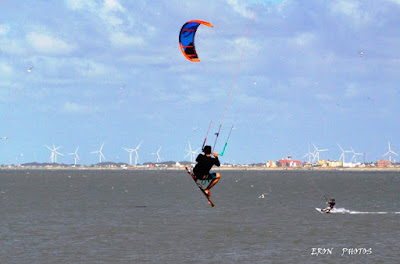 Kite Surf na Maior Praia do Mundo - Praia do Cassino
