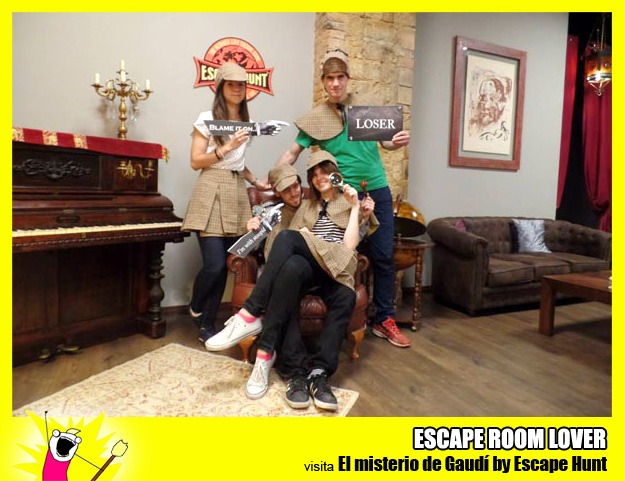 "Opinión sobre escape room: Escape Hunt ""El misterio de Gaudí"" - Barcelona"