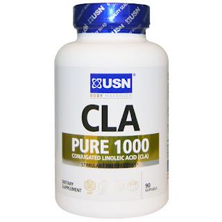 مكمل غذائي حارق الدهون ( سي أل أي ) من اي هيرب USN, CLA, Pure 1000, 90 Softgels