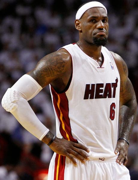 LeBron James with Goatee Beard Style