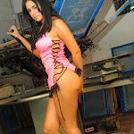 Andrea Rincon, Selena Spice Galeria 38 : Baby Doll Rosado, Tanga Rosada, Total Rosada Foto 6