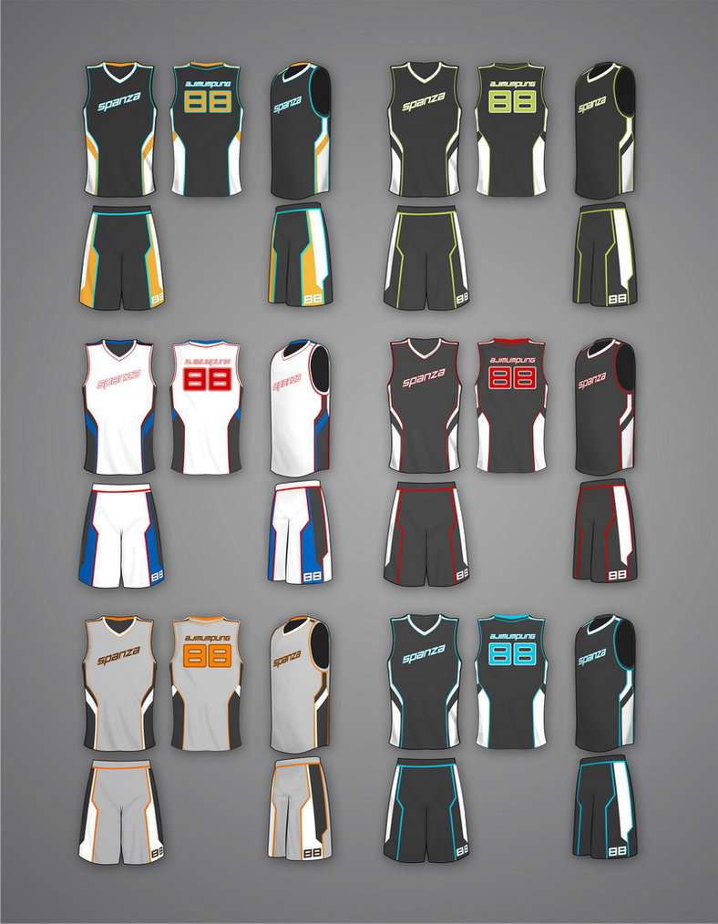 Cara Membuat Desain Baju Basket Photoshop | Klopdesain
