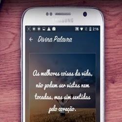 O app Divina Palavra é voltado a evangélicos para criar e compartilhar textos bíblicos