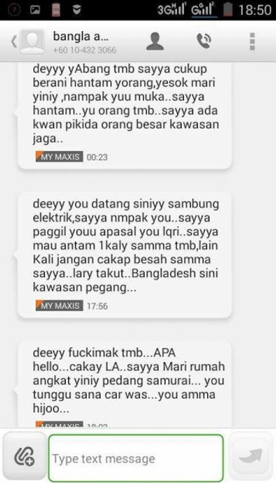 Bangla Sekarang Sudah Berani Ugut Pekerja TNB Gara-Gara Elektrik Kena Potong